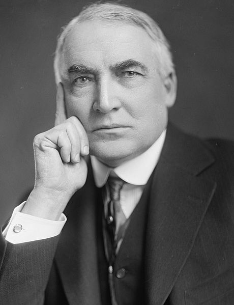460px-Warren_G_Harding-Harris_&_Ewing-crop