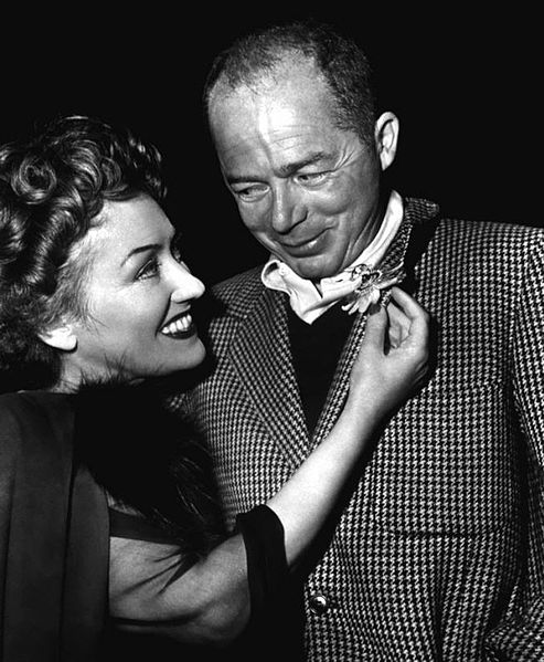 493px-Gloria_Swanson_&_Billy_Wilder_-_ca._1950