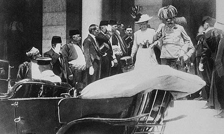Archduke_Franz_with_his_wife